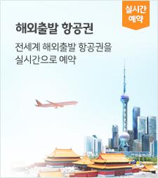 해외출발 항공권